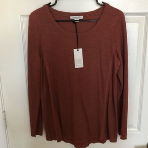 Last Two! Rust Casual Top